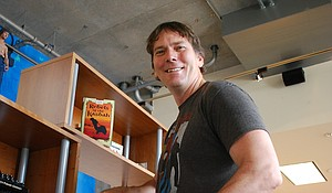 Author, and publisher Joe O'Neill slices into adventure books for adolescents.