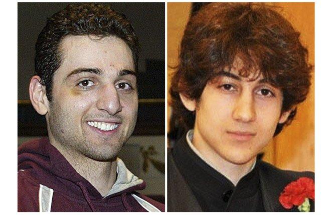 Tamerlan and Dzhokhar Tsarnaev.