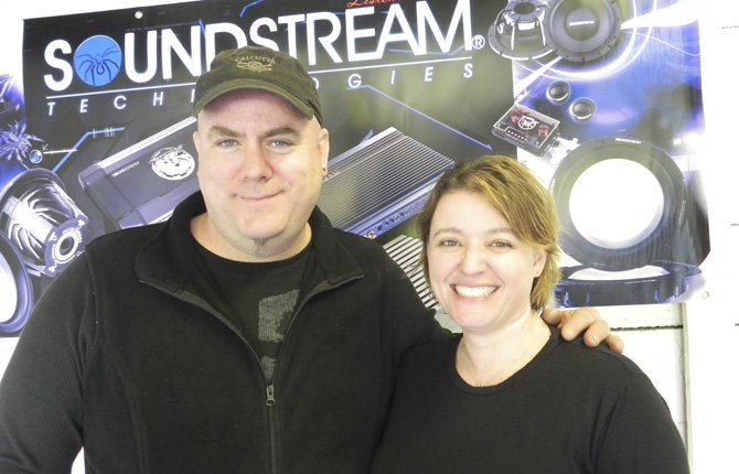 DAN AND LAURA Berkovich have launched JD Audio, providing car, home and boat installation of audio and security systems.