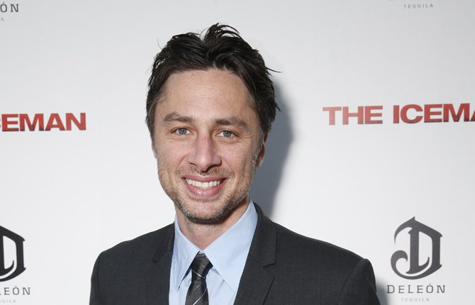 "ZACH BRAFF, actor-director of ""Garden State,"" has launched a crowd-funding campaign for his next movie."