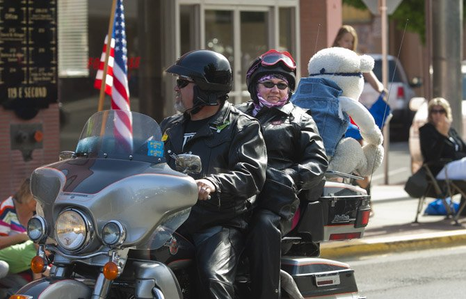 The Teddy Bear run precedes the 2013 Northwest Cherry Festival parade Saturday April 27.