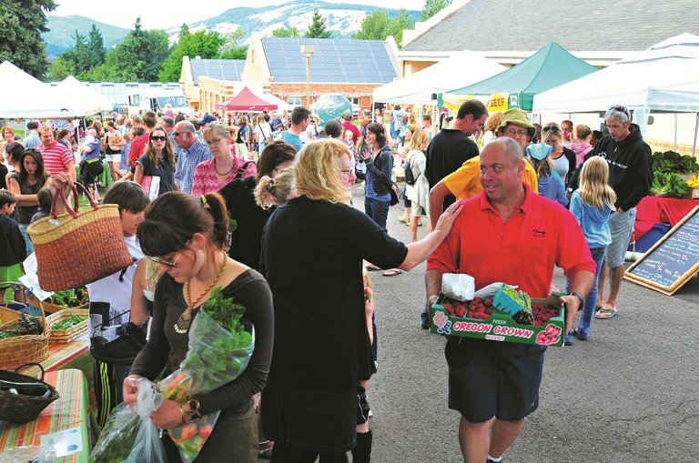 Hood river's Gorge Grown farmers' market starts this Thursday, 4-7 p.m. at Hood River Middle School.