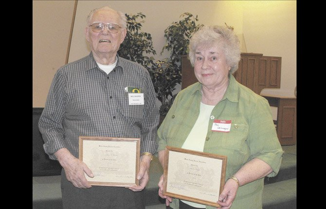 WILLIAM ROOPER and Jan Leininger have been named Pioneer Man and Woman of 2013.