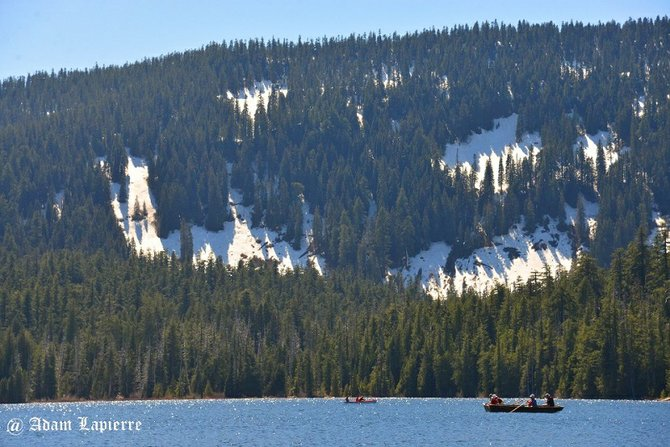 Lost Lake is open and ready to enjoy in this week's warm and sunny weather. Forecasts show temps into the upper 80s by Friday. See the May 8 Hood River News or www.hoodrivernews.com for a feature on Lost Lake's new management and improvements made to facilities since last summer.