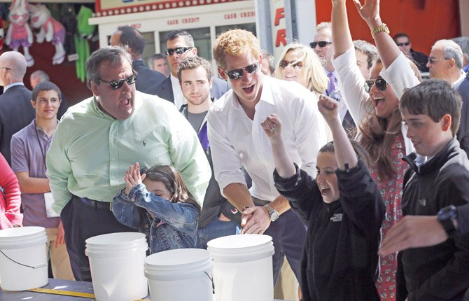 Prince Harry Tours Coastline