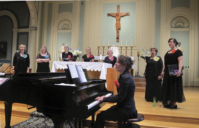ENCORE WOMEN'S Ensemble performs in a benefit for HAVEN Sunday, June 2, at St. Peter's Landmark.