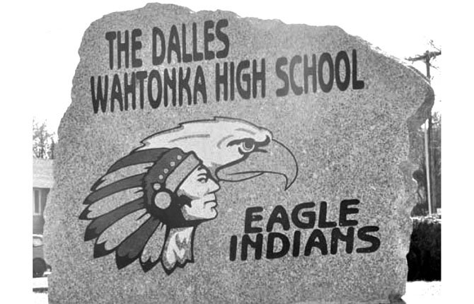 The Dalles Wahtonka High School logo.