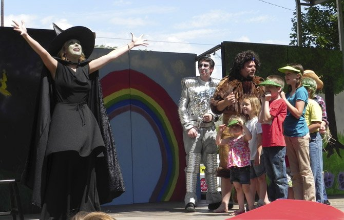 "ACTORS PERFORM IN THE 2012 FREE PLAYS IN THE PARK performance of the ""Wizard of Oz."" This year's play is ""Briar Rose,"" the story of Sleeping Beauty, with showings Saturday, July 20, at 1 p.m., and Saturday, Aug. 10, at 11 a.m., both at The Dalles City Park."
