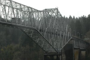 The Bridge of the Gods in Cascade Locks.