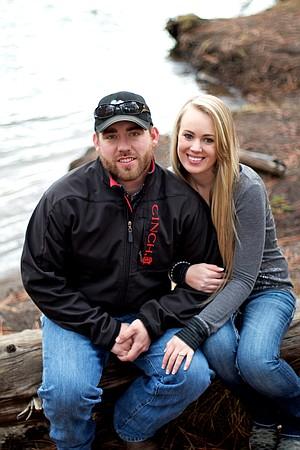 Eliza Broehl and Travis Harper