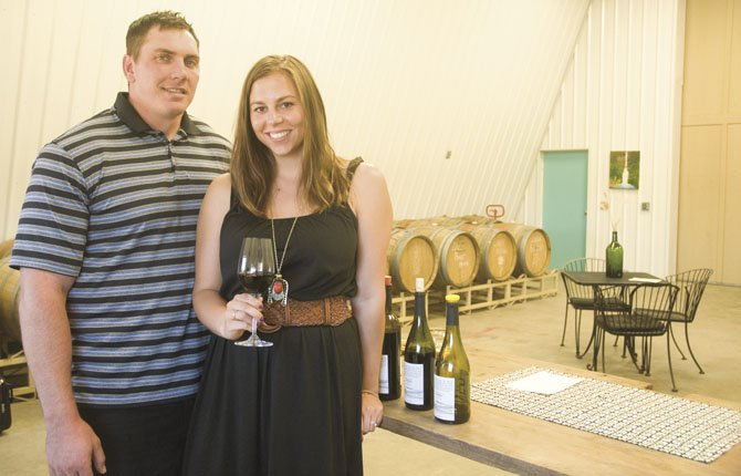 COLTER AND LACEY BOLTON invite the public to 15 Mile Winery, just outside Boyd on the family's 150-year-old farm in rural Wasco County.