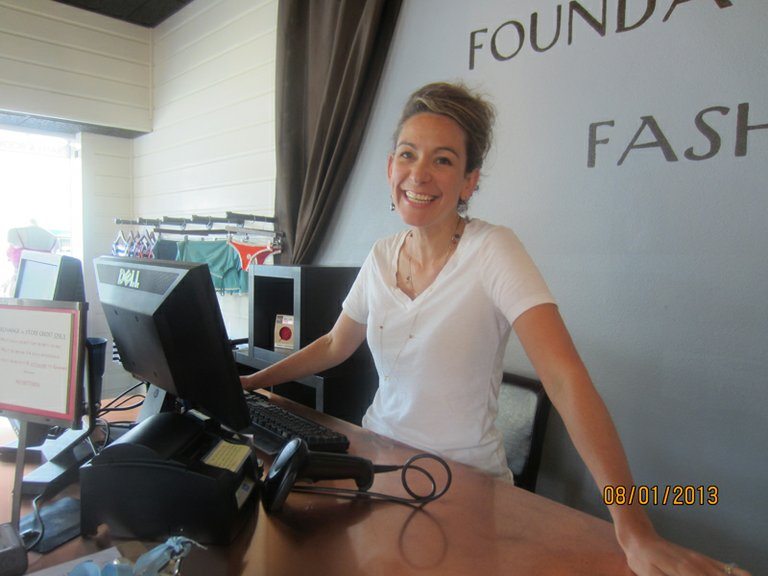 Foundation 45 owner Brooke Pauly helps customers of all shapes and sizes and loves the small-town feeling of Hood River.