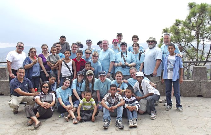 THE MORELLI FAMILY participate in a mission to Honduras to help orphaned children.