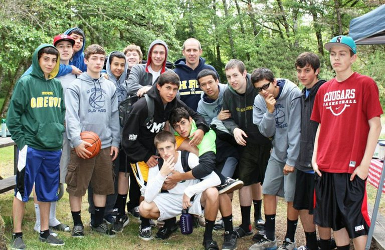HRV?hoops players were busy over the summer with a 14-game schedule.