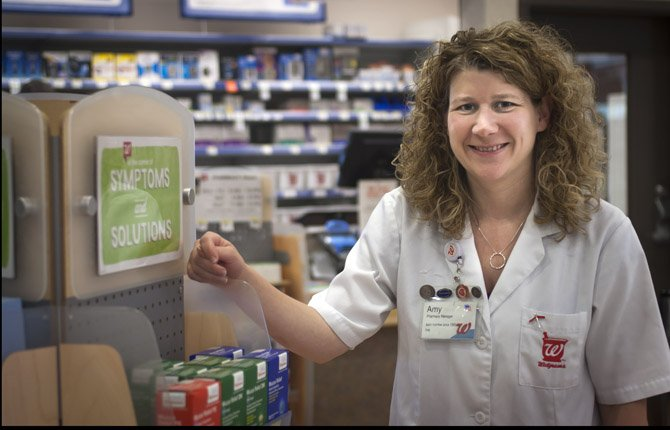 Amy Howe was pleased to find work at a pharmacy in The Dalles.