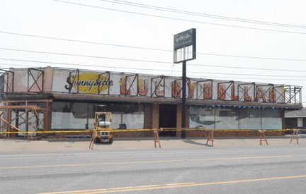 Last week an awning was removed from the store at 327 Yakima Valley Highway, revealing the signage for Sunnyside Lucky Dollar store. The store was in operation for nearly two decades.