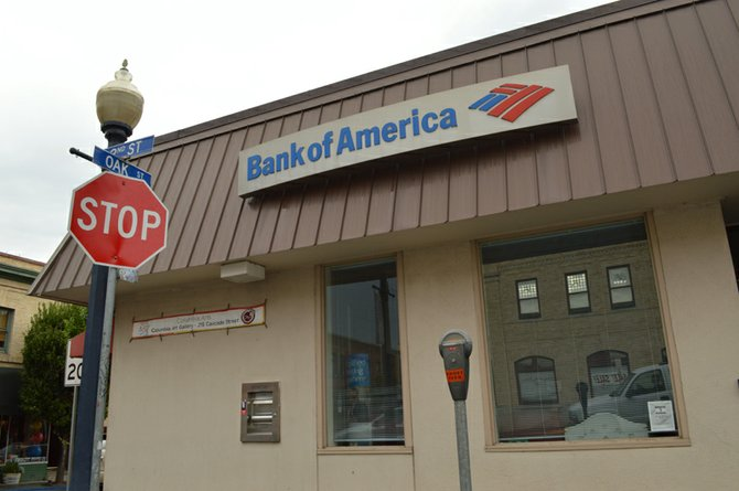 DOWNTOWN HOOD RIVER'S Bank of America branch will change to Washington Federal later this year.