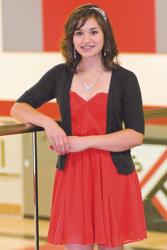 Jaqueline Kranz is one of 14 young ladies competing for the 2013-14 Miss Sunnyside title. If selected for the title, she would like to develop a health and fitness program for youngsters.