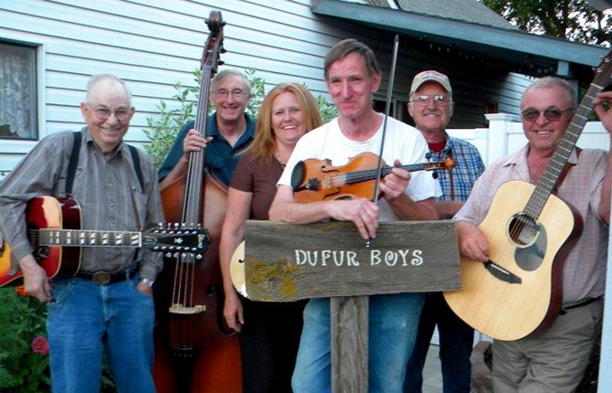 The Dufur Boys are the featured entertainment at the Kiwanis Steak Feed, Sept. 5 at Sorosis Park.