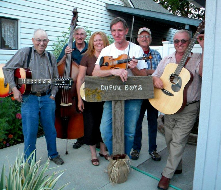 Dufur Boys play country music Sept. 5 to benefit The Dalles Kiwanis programs..