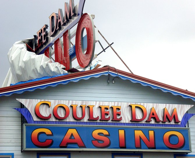 Storm damages roof at Okanogan Bingo Casino