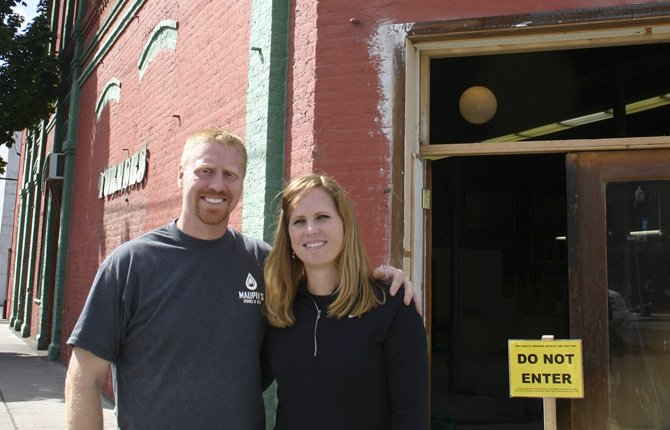 DANIEL AND LORI Bonham have purchased the former Turners Furniture building and plan to relocate their business, Maupin Stoves-N-Spahs to the corner location at East Second and Jefferson streets.