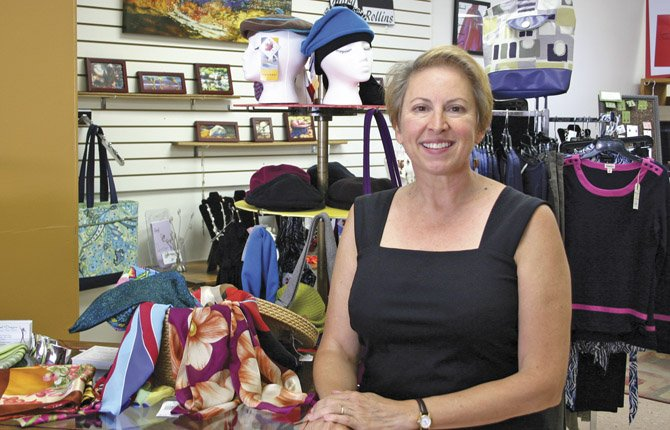 OUR TOWN, The Dalles Fashion Show will feature merchandise from downtown shops including Lines of Designs, owned by Luise Langheinrich.	\