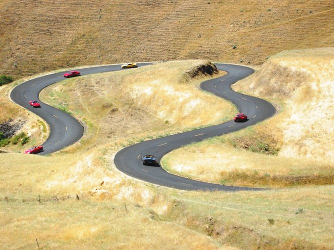 The historic Maryhill Loops Road, one of the first modern roads in the Northwest, is opened for automobiles only twice a year.