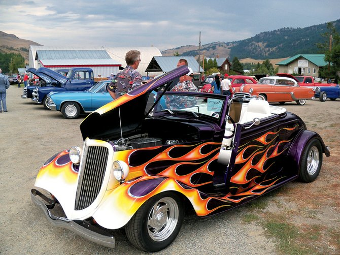 Tom and B.J. Carlton took home the Best of Show Award with this 1934 Ford at Chesaw's Hot August Nights on Saturday.