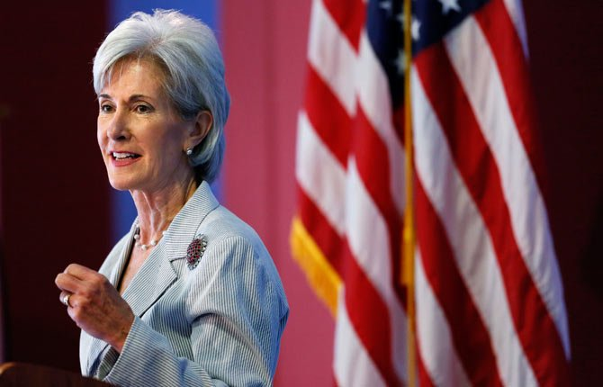 Health and Human Services Secretary Kathleen Sebelius speaks Aug. 22 during an event discussing the federal health care overhaul in Philadelphia. With new health insurance markets launching next week, the Obama administration is unveiling premiums and plan choices for 36 states where the federal government is taking the lead to cover uninsured residents. The overview of premiums and plan choices, being released Sept. 25 by Sebelius, comes as the White House swings into full campaign mode to promote the benefits of the Affordable Care Act to a skeptical public.