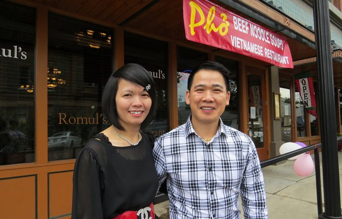 KATHLEEN AND HENRY Tran have purchased Romul's Restaurant and are adding Vietnamese cuisine to the Italian selections.