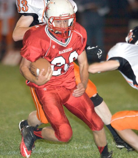 DUFUR'S Nick Little in action this season for a non-league game.