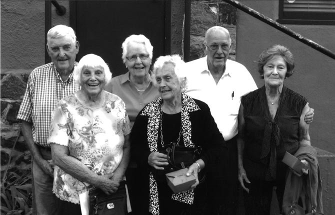 The St. Mary's Class of 1948 celebrated its 65th reunion with a dinner at the Hiway House Aug. 10.  Contributed photo
