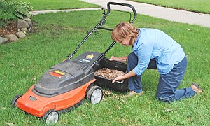 Mulching fall leaves helps prepare lawns and gardens for the winter and spring months. Spreading a layer over the soil conserves moisture and insulates roots of perennial plants.