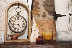 With a little creativity and finds at craft or dollar stores, homes can be haunted just in time for Halloween.