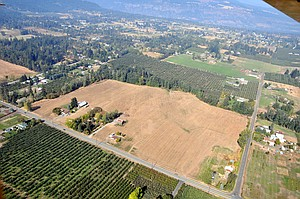 31.4 ACRES of high-value farmland sits empty on Hood River's west side, awaiting the results of a lengthy legal process that has most recently been passed from the County Planning Commission to the Hood River County Board of Commissioners for a final decision, which must be made by Dec. 16.