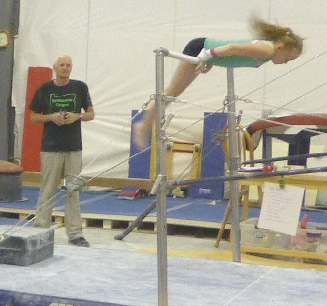Riverside Gymnastics strong in first competition.