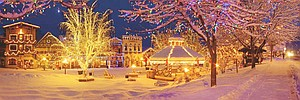 The Christmas lighting at Leavenworth has been praised by the Today Show, Time, the Travel Channel and Good Mo