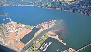 HOOD RIVER WATERFRONT has become an epicenter of activity for many thousands of residents and visitors who flock to the Gorge for wind and water sports and summertime recreation.