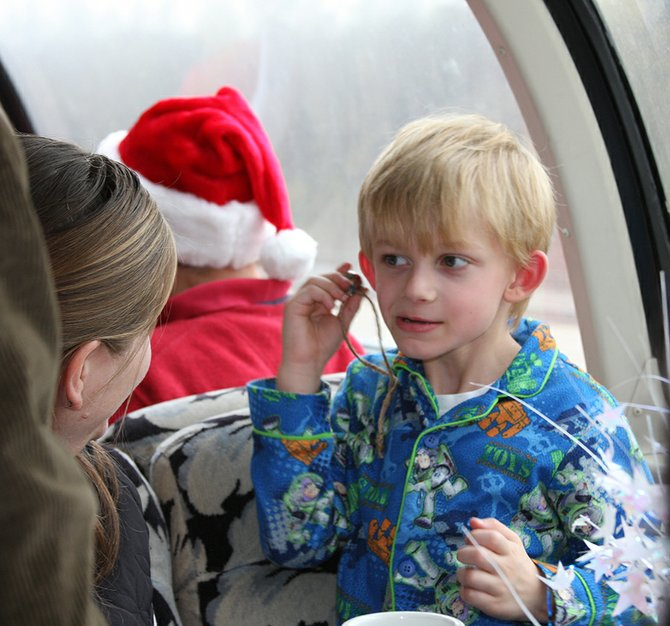 "PAJAMAS ARE encouraged aboard ""The Polar Express,"" renew-ing its Christmas-themed travels starting Nov. 9 at Mount Hood Railroad."