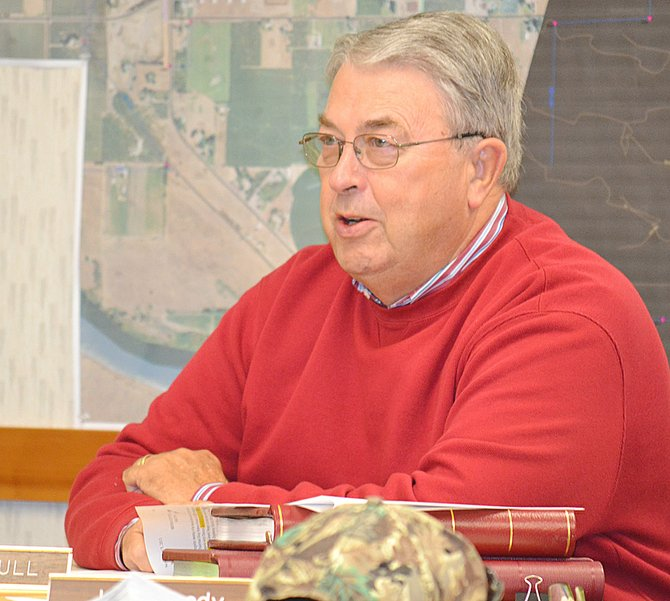 The Sunnyside Division Board of Control receives an update from General Manager Jim Trull this past Tuesday, on activities with an advisory group addressing contaminated groundwater in Yakima County. Trull said discussions are still in place on hopes of obtaining deep soil samples to determine the extent of contamination.
