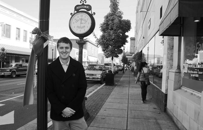 MATTHEW KLEBES is the new coordinator of The Dalles Main Street.