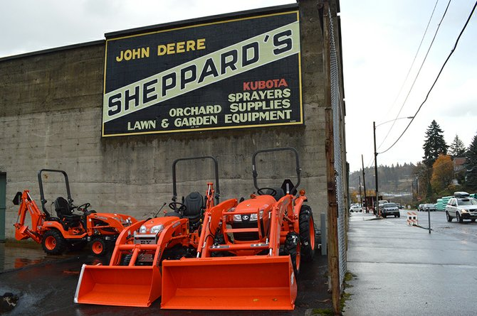 BURGLAR, OR BURGLARS, stole generators from Sheppard's State Street storefront early on Wednes-day morning.