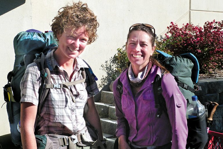 Hikers Noleen Read and Kellie Bolger are among those who left the Pacific Crest Trail due to snow and the federal shutdown.