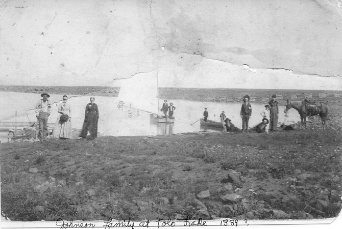 Tolo Lake, 1889