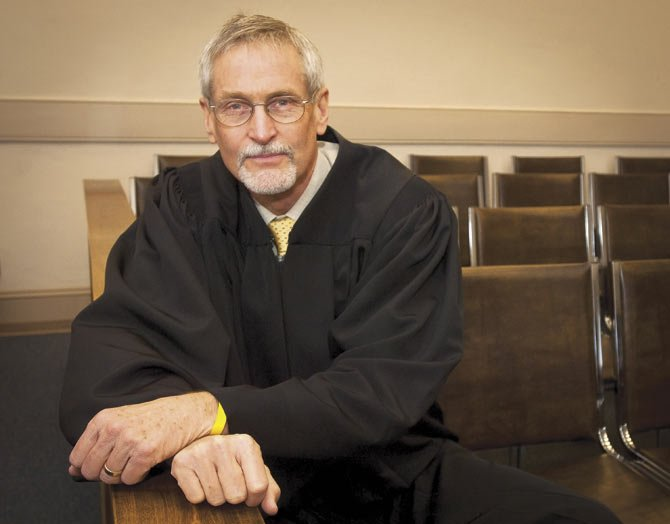 MUNICIPAL JUDGE Tom Peachey will celebrate the first graduate from Mental Health Court next week in The Dalles. The court aims to help people with mental troubles who might otherwise become residents for the regional jail.