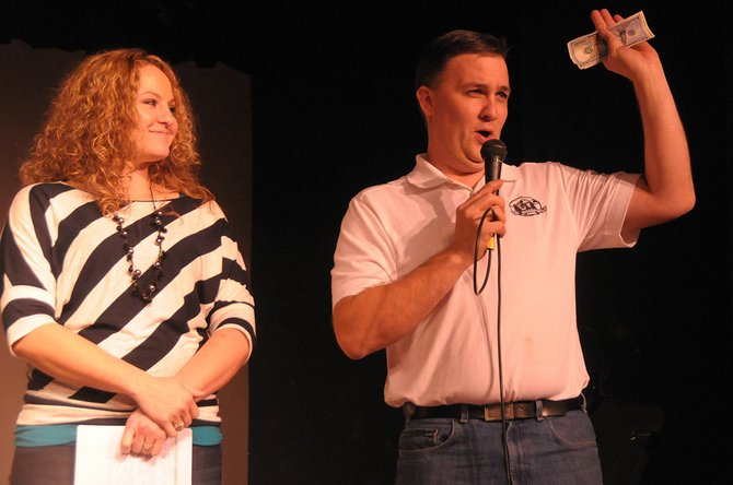Shonni and Brandon Graves of the Old Opera House Theater in Kooskia get ready to name the 2013 Opera House Has Talent winners Saturday, Nov. 23.