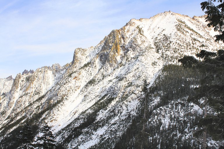 Travelers will only be able to see the scenic views of North Cascades Highway from afar for the rest of the winter. The state Department of Transportation officially shut down the highway between Mazama and Marblemount on Tuesday morning.