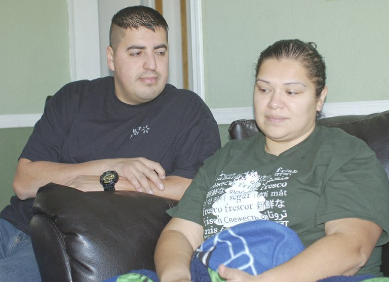 Veronica Valdovinos finds it hard to explain the stress she feels over her family's deluge of medical bills, which have resulted from her recent medical emergencies. The Grandview woman, seen here with husband Jorge, has undergone three brain surgeries in the span of 18 months to remove fast growing tumors.