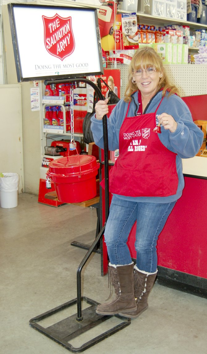 Roxzana Lakey has spent the last two Christmas seasons working as a bell-ringer for the Salvation Army at the Sunnyside Bi-Mart.